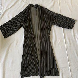 Forever 21 Long Open Robe/Cardigan